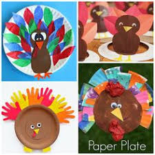 thanksgiving paper plate crafts for thanksgiving crafts