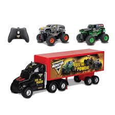 monster truck jam coupons new bright r c monster jam truck carrier set