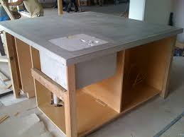 Simple Kitchen Island by Bathroom Paint Kitchen Island With Cozy Quikrete Countertop Mix