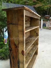 Wood Bookcase Plans Pallet Bookcase Tutorial Pallet Furniture Diy