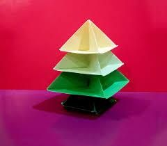 origami christmas tree easy paper christmas tree arbolito de