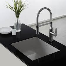 commercial style kitchen faucets kraus kpf 1640ch chrome nola single lever flex commercial style