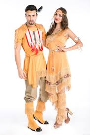 native indian prince princess squaw pocahontas fancy dress