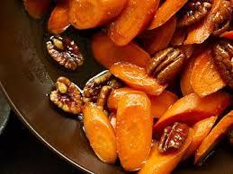 glazed carrots with pecans recipe myrecipes