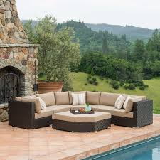 Rattan Settee Seating Sets Costco
