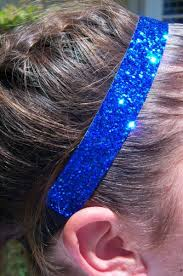 sparkly headbands glitter sports headbands