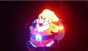 light up xmas decorations led flashing body light mini led light pins christmas party item