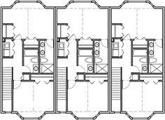 awesome picture of triplex blueprints catchy homes interior