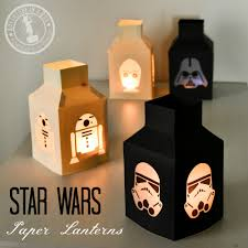star wars paper lanterns adventure in a box