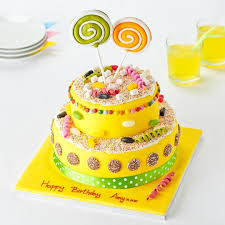 easy entertaining sweetie surprise cake tesco groceries