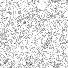 coloring pages ocean designs coloring book stress relieving