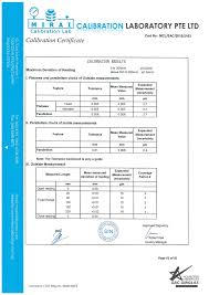 calibration report template pressure calibration certificate sle images certificate