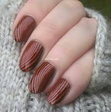 knitty nails 40 great nail art ideas orange purple u0026 green