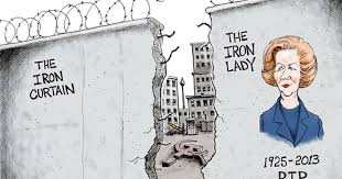 Iron Curtain Political Cartoons Tony Phyrillas On Politics The Iron Lady Vs The Iron Curtain