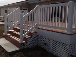 vinyl railing systems abg contracting