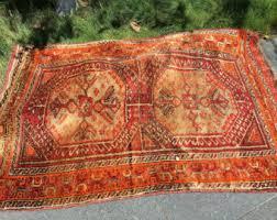 Vintage Tribal Rugs Antique Turkmen Tribal Rug Southwestern Rug Aztec Rug