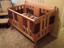 Baby Crib Blueprints by Drew U0027s Sleigh Crib The Wood Whisperer
