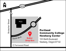 Mcminnville Oregon Map by Ballot Drop Sites Yamhill County Oregon