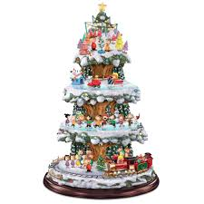 Thomas Kinkade Christmas Tree For Sale by The Peanuts Animated Christmas Tree Hammacher Schlemmer