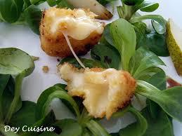 cuisine nantaise dey cuisine défi my dey curé nantais pané salade mâche poire