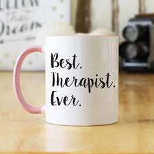 best mug best therapist ever script print 11 oz coffee mug ohc110 oh