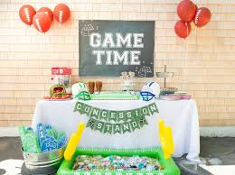 we heart parties blog backyard football game birthday party