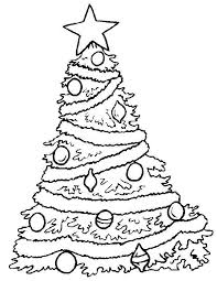 86 coloring christmas tree images christmas