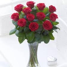 Vase With Roses Red Roses In Vase Glasnevin Trust Shop