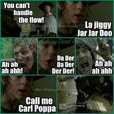 Walking Dead Meme Carl - the walking dead memes carl grimes rick grimes walkers bad lip