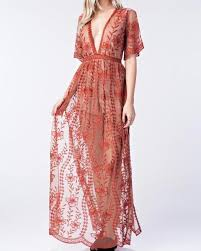 lace maxi dress honey punch as you wish embroidered lace maxi dress with
