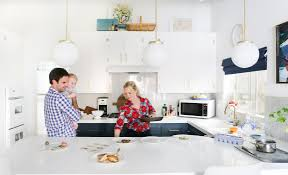 our new kitchen reveal plus we cook now emily henderson