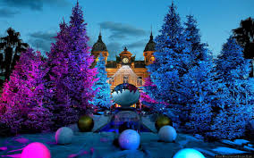 christmas tree casino monte carlo monaco wallpaper free