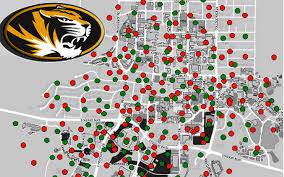 Mizzou Campus Map Mu Ku Highlighted In Report On College Actions To Curb Sexual