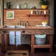 kitchen sink ideas outdoor kitchen sink station photo 7 ideas within designs 4
