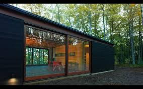 Cabin Linear Cabin St Germain Wisconsin U2014 Johnsen Schmaling Architects
