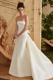 strapless wedding gowns what to wear your wedding dress fashionista