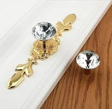 drop dresser knob drawer pulls handles knobs gold tassel