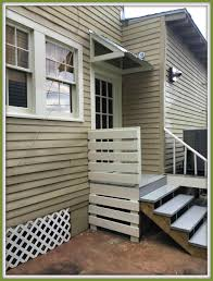 How To Build A Awning Over A Door Windows Awning Garage Howto Build Handmade Tiny House Howto
