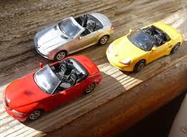 Porsche Boxster Model Car - welly jimholroyd diecast collector