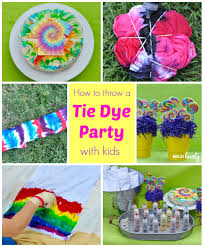 tie dye party make life lovely