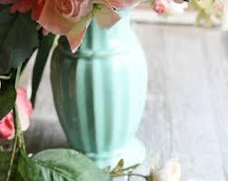 Mint Green Vase Mint Green Vase Etsy