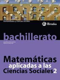 imagenes matematicas aplicadas 2bac matematicas aplicadas ciencias sociales 2 bachillerato vv aa