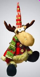 deer door stop reindeer decor novelty gift festive heavy