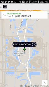 Map Of Orlando Airport by Uberx Comes To Orlando Central Florida Top 5