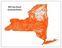 New York State County Map by Nys Gis Parcels