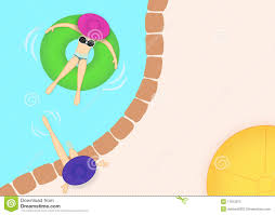 pool party invitation stock photography image 17813972