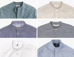the best collarless shirts gear patrol