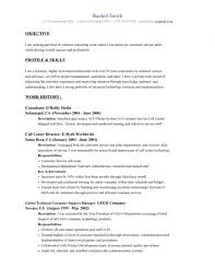 Sample Resume For Customer Service Representative Call Center by Customer Service Resumes Examples Customer Service Representative