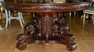 Mahogany Dining Room Table And 8 Chairs Fancy And Sturdy Mahogany Dining Table For Big Meal With Everyone