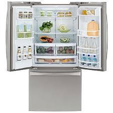 Stainless Steel Refrigerator French Door Bottom Freezer - kenmore elite 73133 24 2 cu ft french door bottom freezer